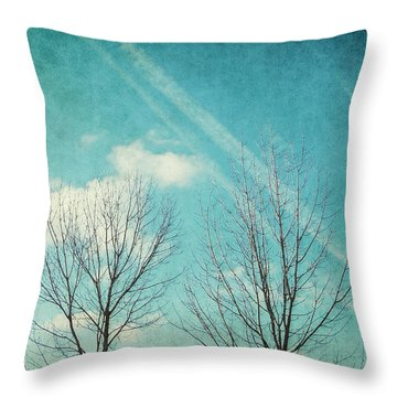 Daydreamer Throw Pillow by Angela Doelling AD DESIGN Photo and PhotoArt