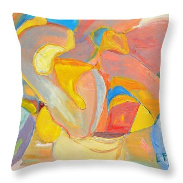 Daydreaming Throw Pillow by Evelina Popilian