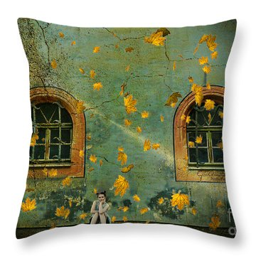 Throw Pillow featuring the photograph Daydreams by Chris Armytage