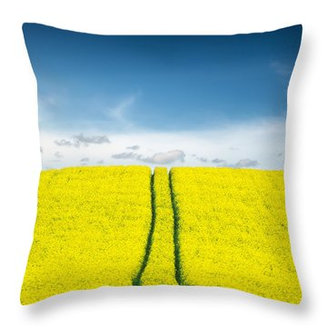 Yellow Throw Pillows