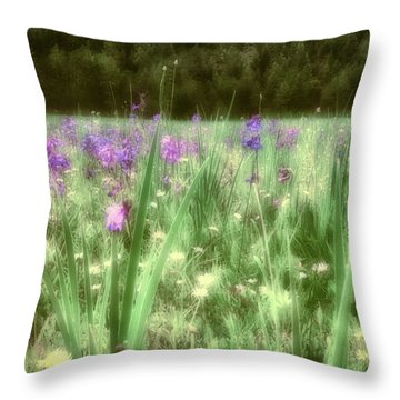 Daydreams In A Meadow Throw Pillow