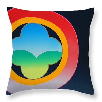 Daylight Throw Pillow by Charles Stuart