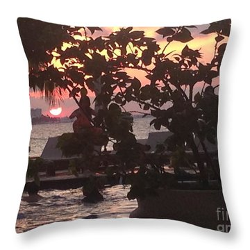 Daylight Ending Throw Pillow