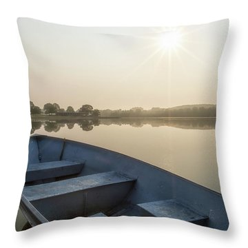 Throw Pillow featuring the photograph Daylight by Heather Kenward