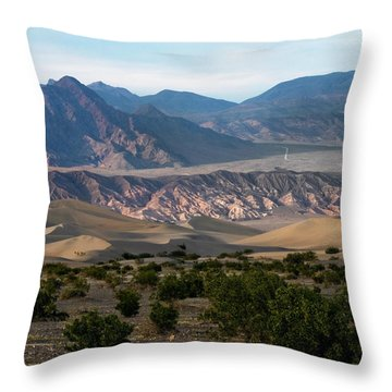 Throw Pillow featuring the photograph Daylight Pass by Joe Schofield