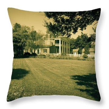 Days Bygone - The Hermitage Throw Pillow