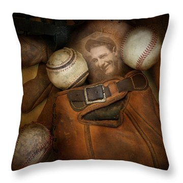 Throw Pillow featuring the photograph Days Gone By by Robin-lee Vieira