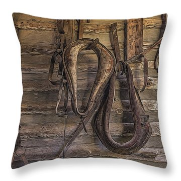Days Gone Throw Pillow