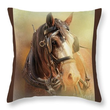 Days In The Sun Throw Pillow by Trudi Simmonds