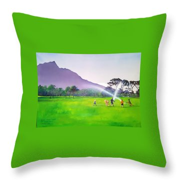 Days Like This Throw Pillow by Tim Johnson