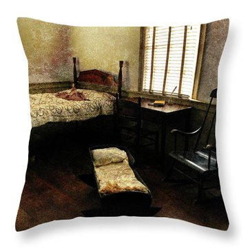 Days Of Old Throw Pillow by Jessica Brawley