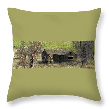 Days Of Old Throw Pillow