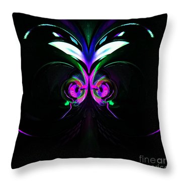 Dazed And Confused Throw Pillow by Blair Stuart