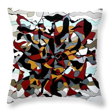 Dazed And Confused  Throw Pillow