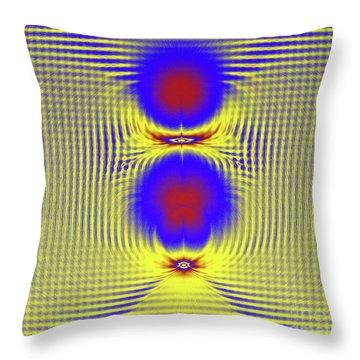 Dazzle Bright Throw Pillow