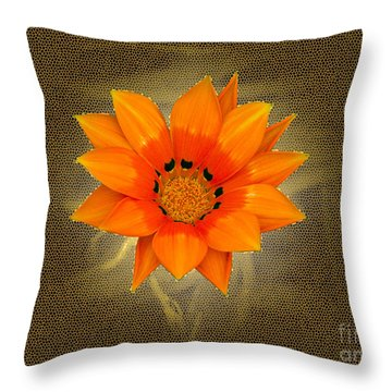 Dazzle Throw Pillow by Karen Lewis