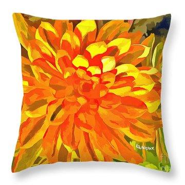 Dazzling Succulent Throw Pillow