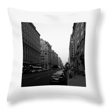 Dc Afternoons Throw Pillow