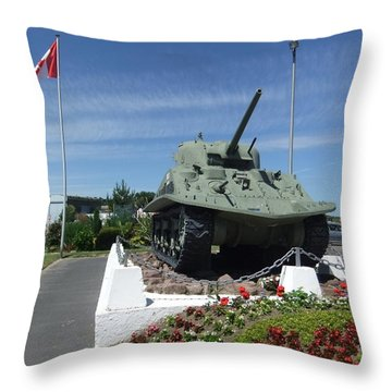 Dd Tank Throw Pillow