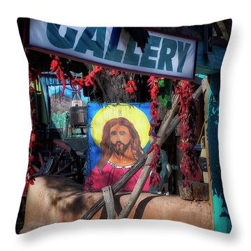 De Chimayo Throw Pillow