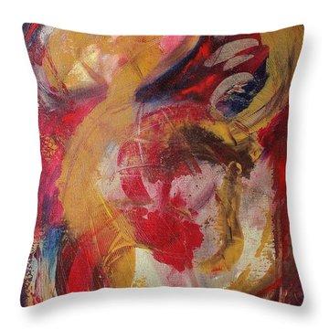 De La Mancha Throw Pillow