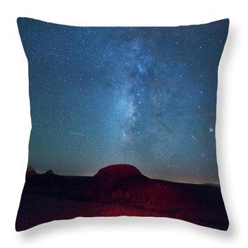 De Na Zin Milky Way Throw Pillow