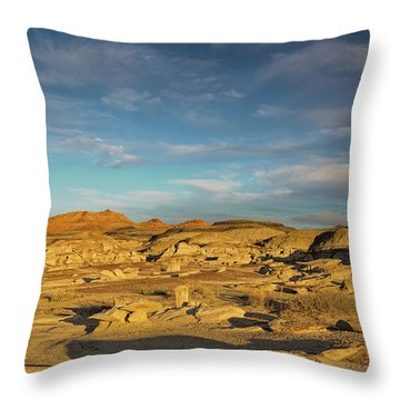 De Na Zin Wilderness Sunset Throw Pillow