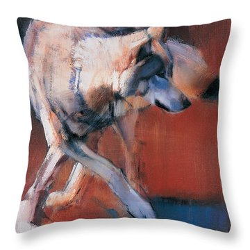 De Siberie Throw Pillow