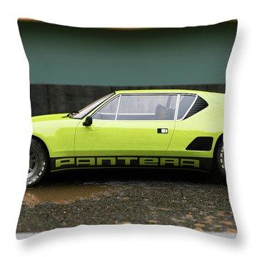 De Tomaso  - Pantera 1 - Cgi -71 Throw Pillow