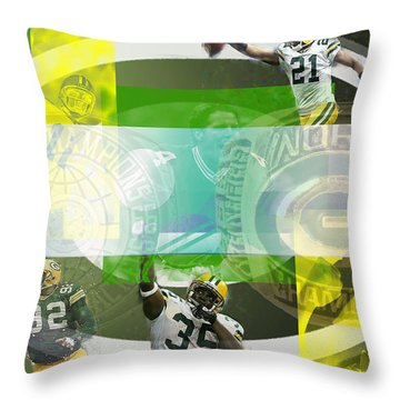 de Wine and Cheese Throw Pillow by Jimi Bush