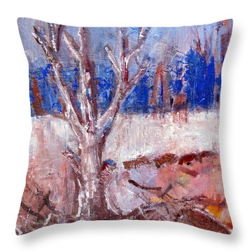 Dead And Lonely Throw Pillow by Betty Pieper