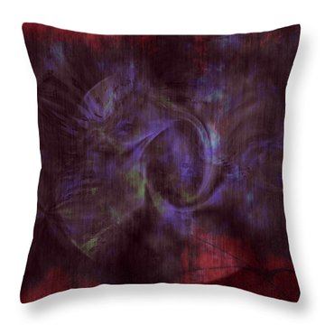 Dead Cities Throw Pillow by Linda Sannuti