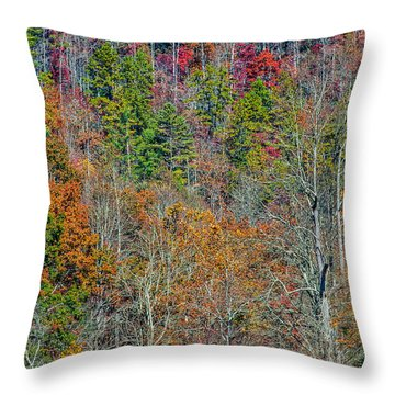 Dead Fall Throw Pillow