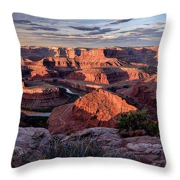 Dead Horse State Park Throw Pillow