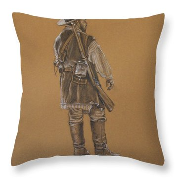 Dead Horse Throw Pillow