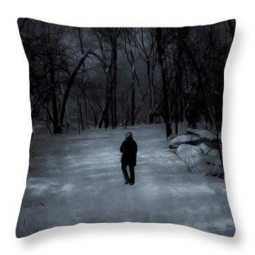 Dead Of Winter Throw Pillow