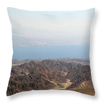 Dead Sea-israel Throw Pillow