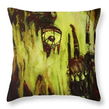 Dead Skin Mask Throw Pillow