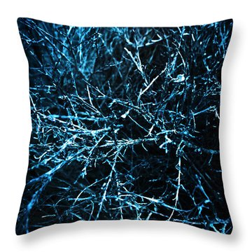 Dead Trees  Throw Pillow