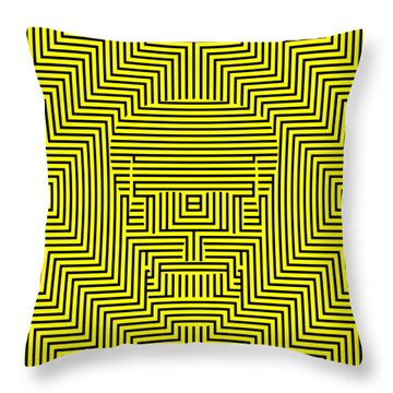 Deadly Dazzles Throw Pillow