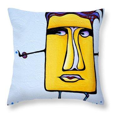 Deadly Doris Throw Pillow