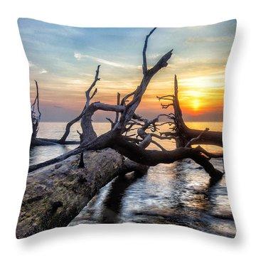 Deadwood Morning Throw Pillow