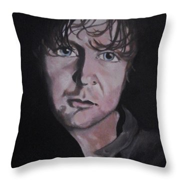 Dean Ambrose Portrait Throw Pillow by Susan Solak