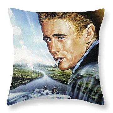 Dean Story Throw Pillow