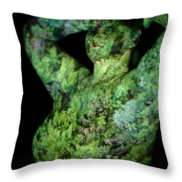 Deanna Throw Pillow by Arla Patch