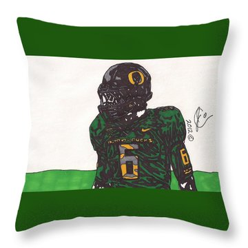 De'anthony Thomas 2 Throw Pillow