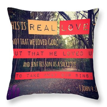 Dear Friends, Let Us Continue To Love Throw Pillow