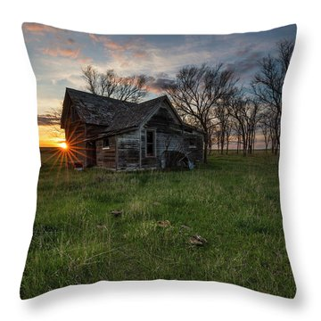 Throw Pillow featuring the photograph Dearly Departed by Aaron J Groen