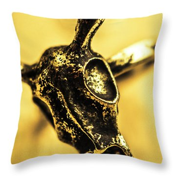 Death Commitment Throw Pillow