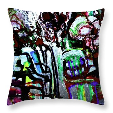 Death Study-3 Throw Pillow